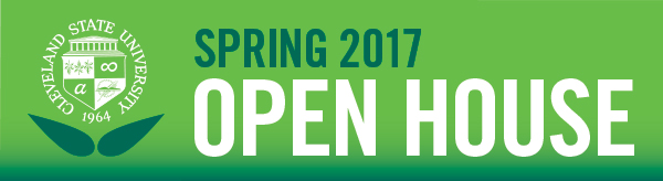 2017 Spring Open House is April 1st