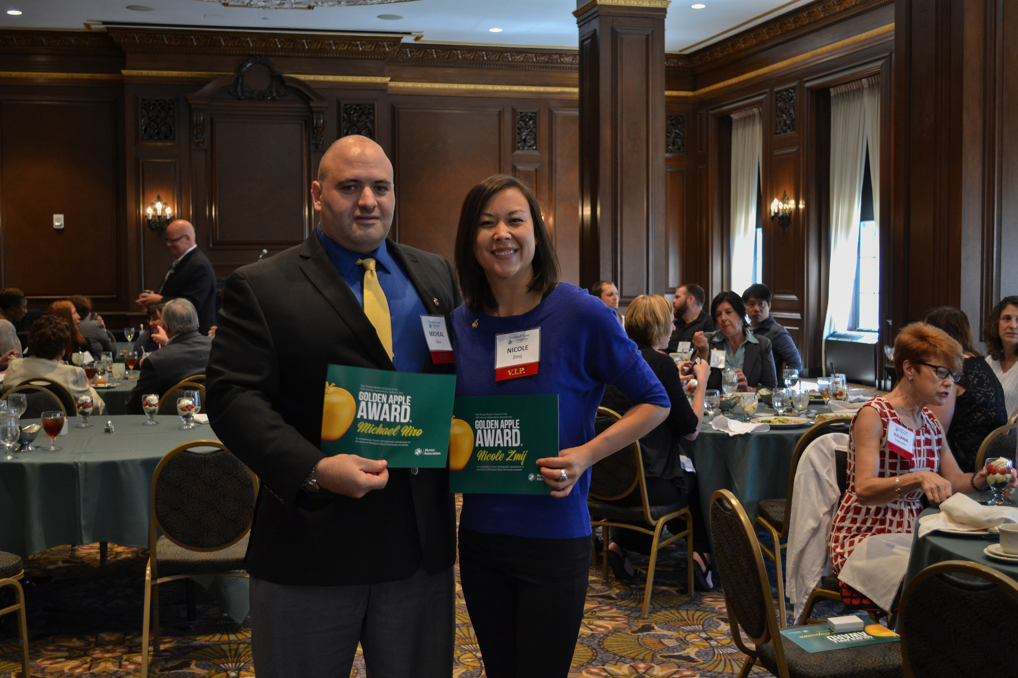 Golden Apple Awards 2015: Michael Niro and Niki Zmij