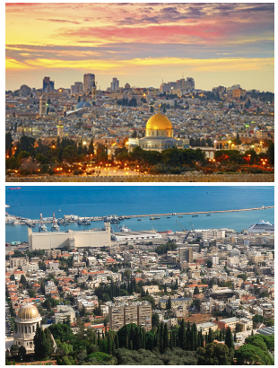 Israel Images: Jerusalem and Haifa