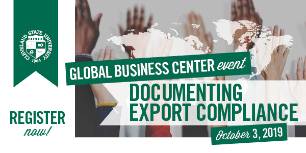 Documenting Export Compliance - October 3, 2019