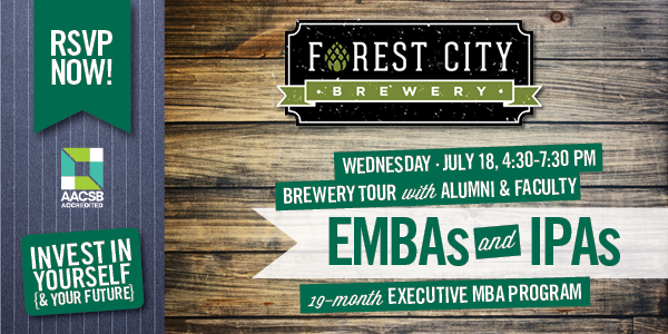 EMBAs and IPAs - Wednesday, July 18th, 2018