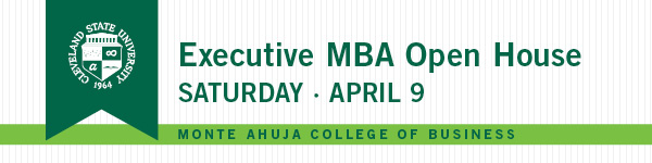 Executive MBA Open House April 9