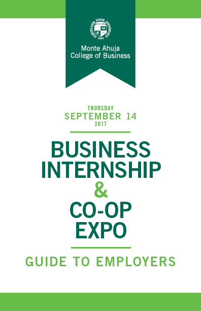 Business Internship & Co-op Expo 2017 Guide to Employers