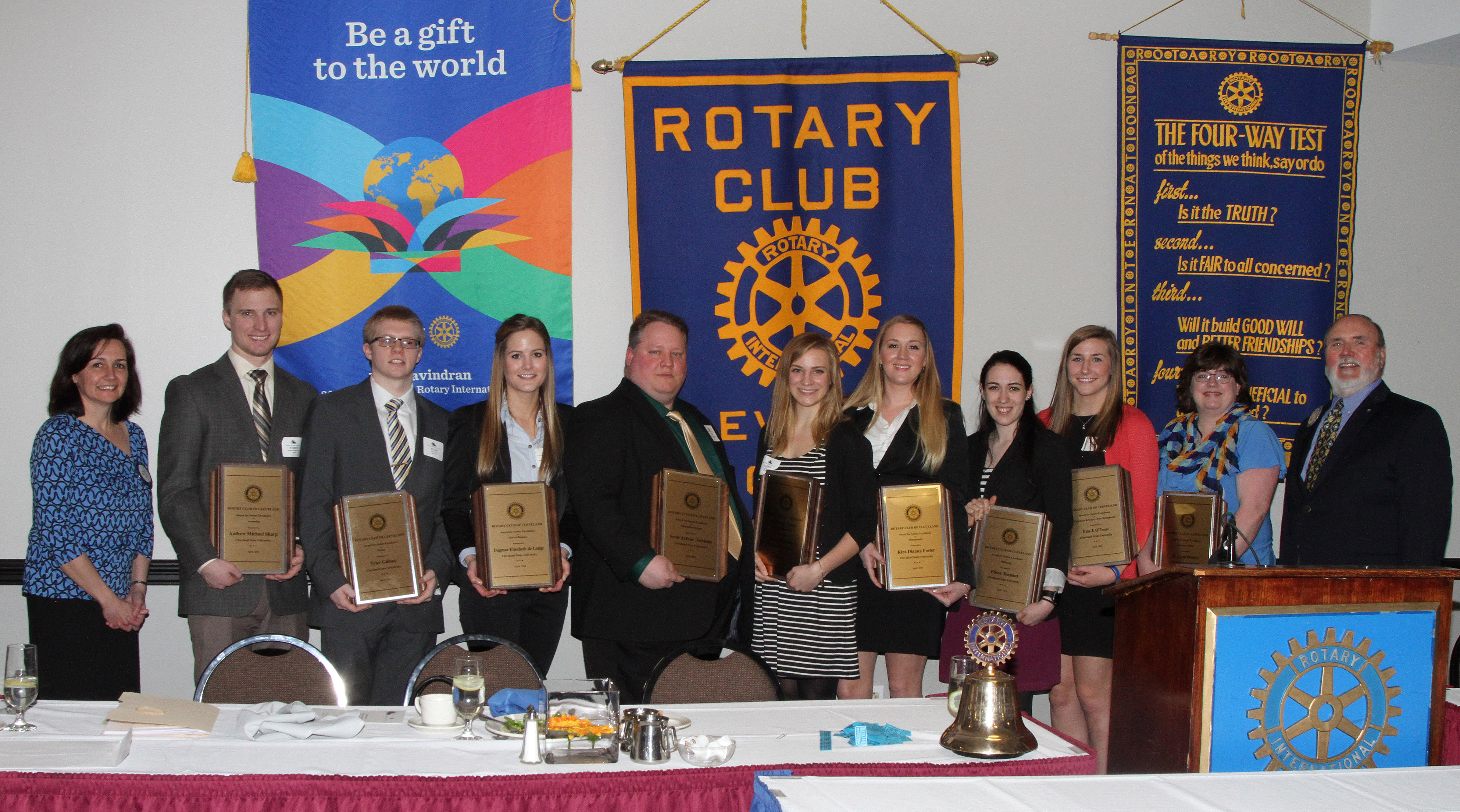 48th Annual Rotary Awards of Excellence for Cleveland State University