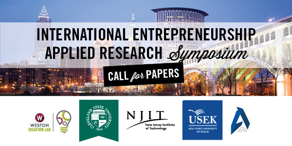 International Entrepreneurship Applied Research Symposium - Call for Papers
