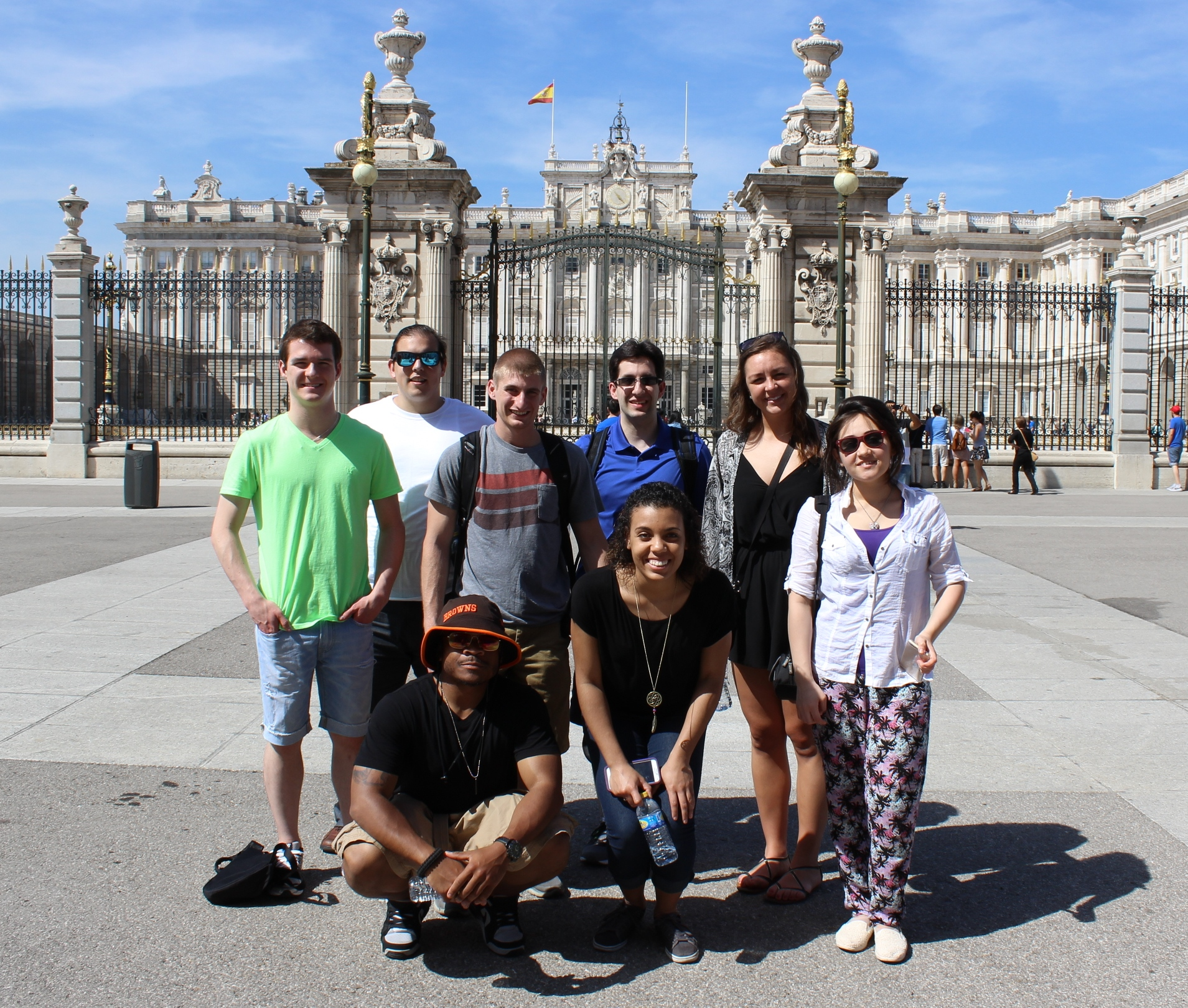 Cleveland State University Students in Barcelona, Spain on a Faculty-Led Study Abroad Tour