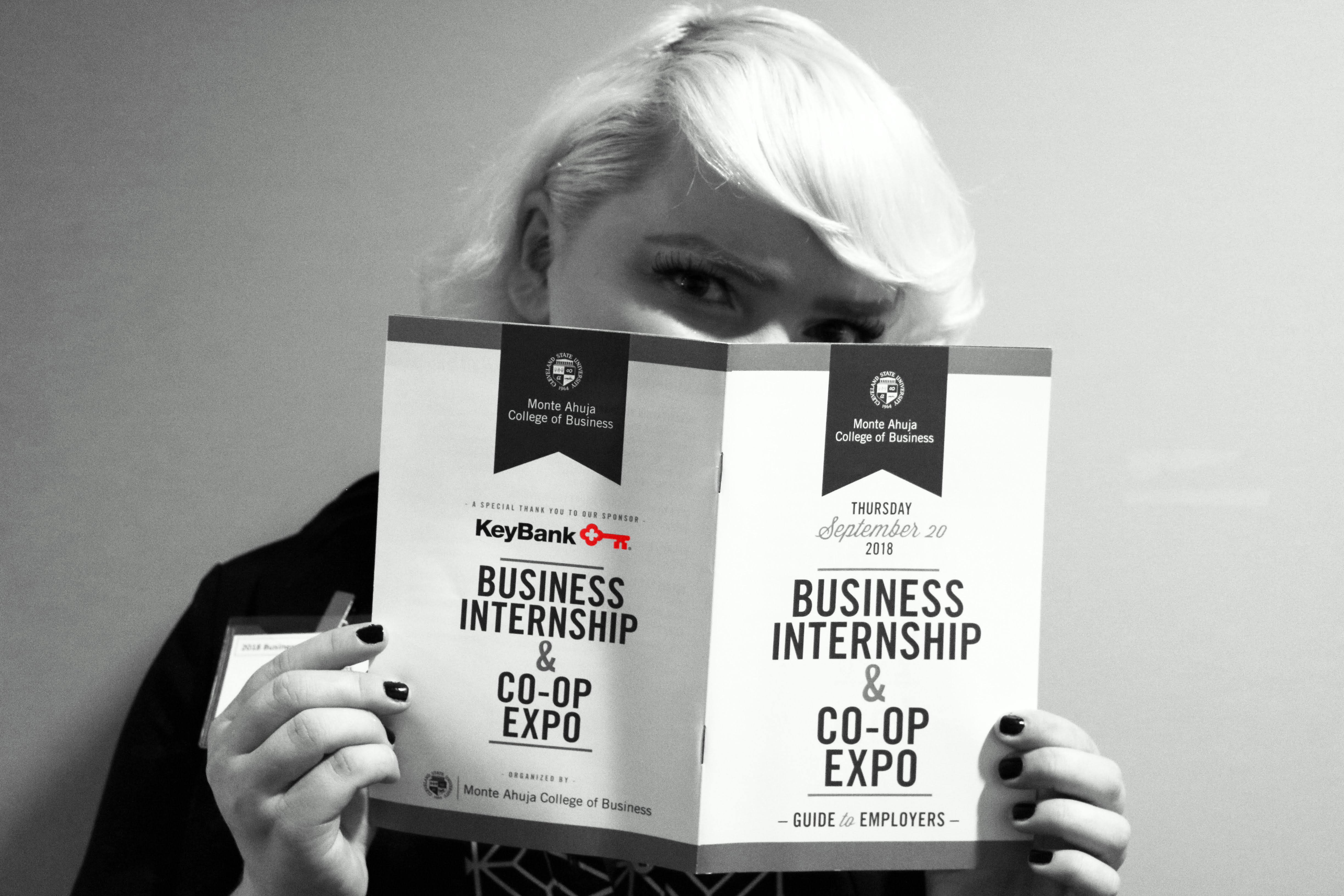 Business Internship & Co-op Expo 2018 Guide to Employers Photo