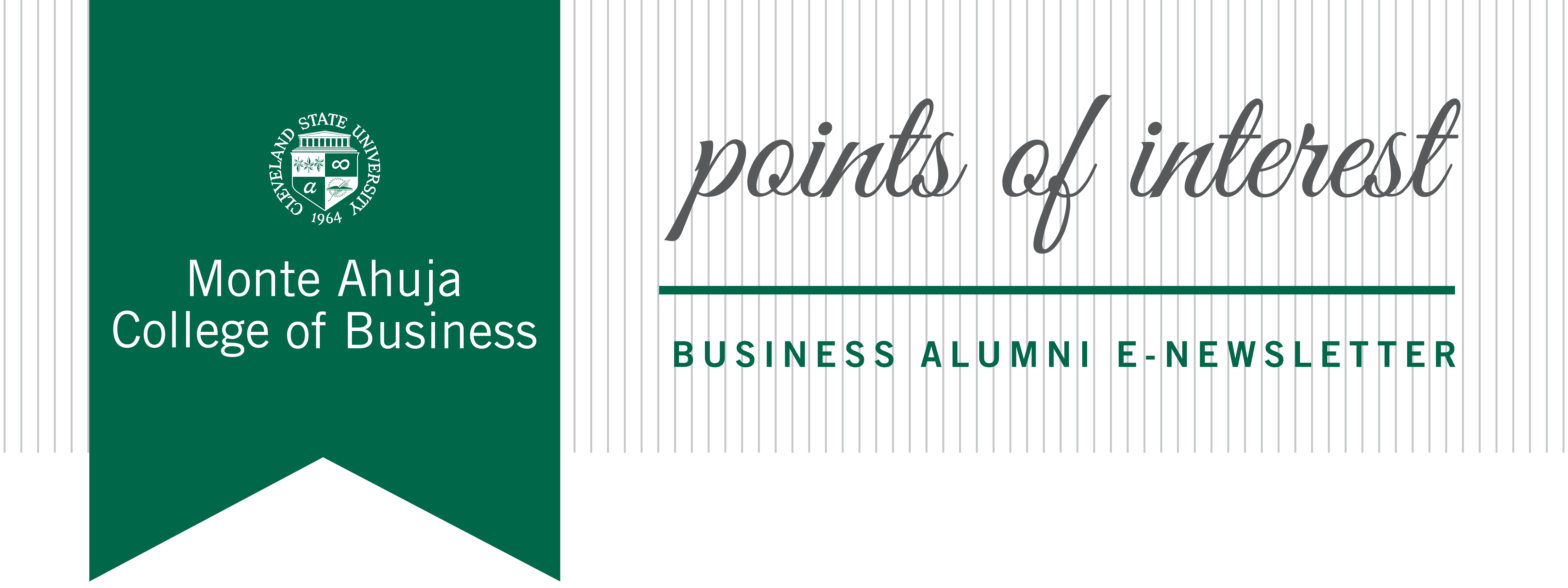 Points of Interest - College of Business Alumni eNewsletter