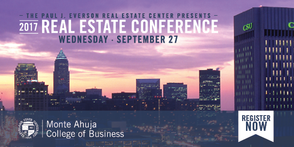 Register Now for the 2017 Real Estate Conference