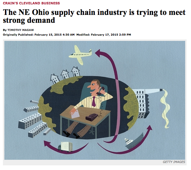 Crain's Cleveland Business Article Featuring Operations & Supply Chain