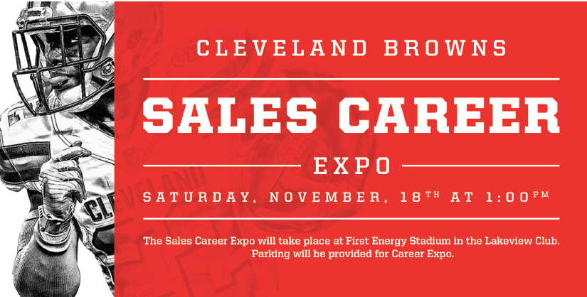 Cleveland Browns Sales Expo 2017