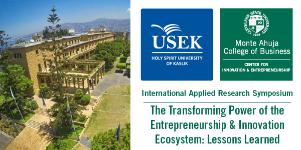 International Applied Research Symposium: The Transforming Power of the Entrepreneurship & Innovation Ecosystem