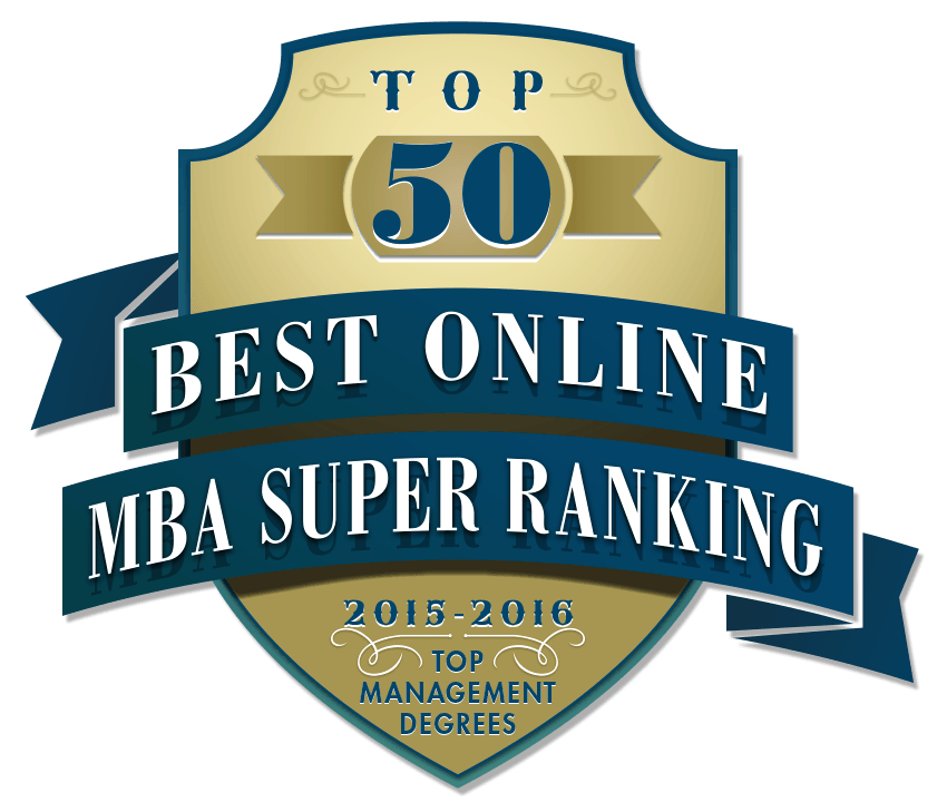 TopManagementDegrees.com Top 50 Best Online MBA Super Ranking