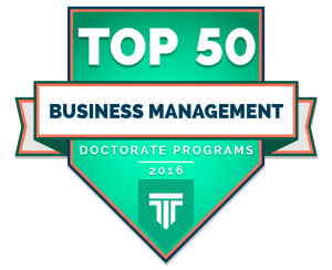 Top 50 Doctorate in Business Management Degree Programs 2016