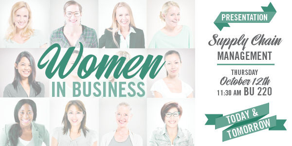 Women in Business - Supply Chain Management - October 12, 2017