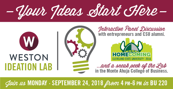 Weston Ideation Lab - Your Ideas Start Here Homecoming 2018 Event