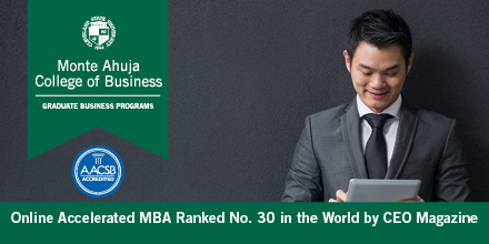 CEO Magazine - Ranking of Online Accelerated MBA
