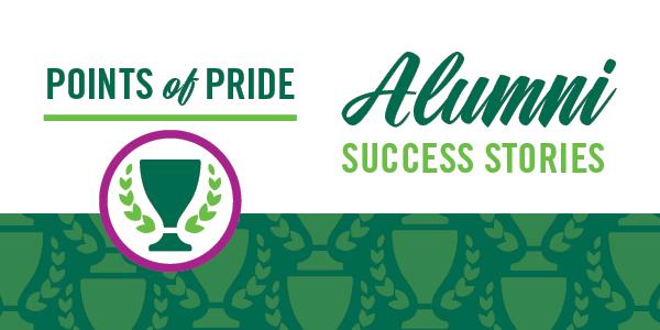 Alumni Success - Points of Pride