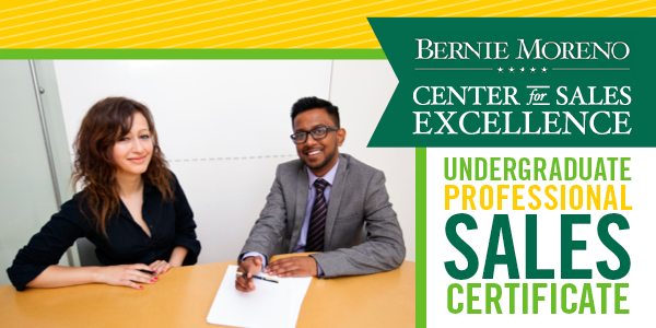 Bernie Moreno Center for Sales Excellence