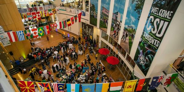 International Student Day at Cleveland State