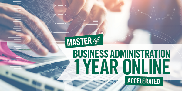 1-Year Online Accelerated MBA Program
