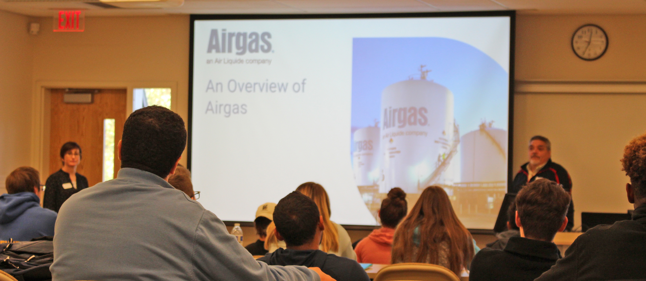 Airgas Visits ACT 222 on October 22, 2019