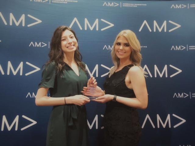 Amanda Thompson and Amalia Jerse AMA Marketing Competition 2018