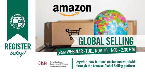 Amazon Global Selling Webinar November 10, 2020