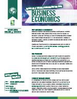 Business Economics Major Four Year Plan 2019