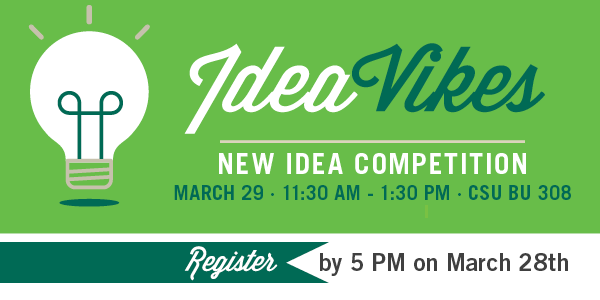 IdeaVikes - Register by March 28, 2018