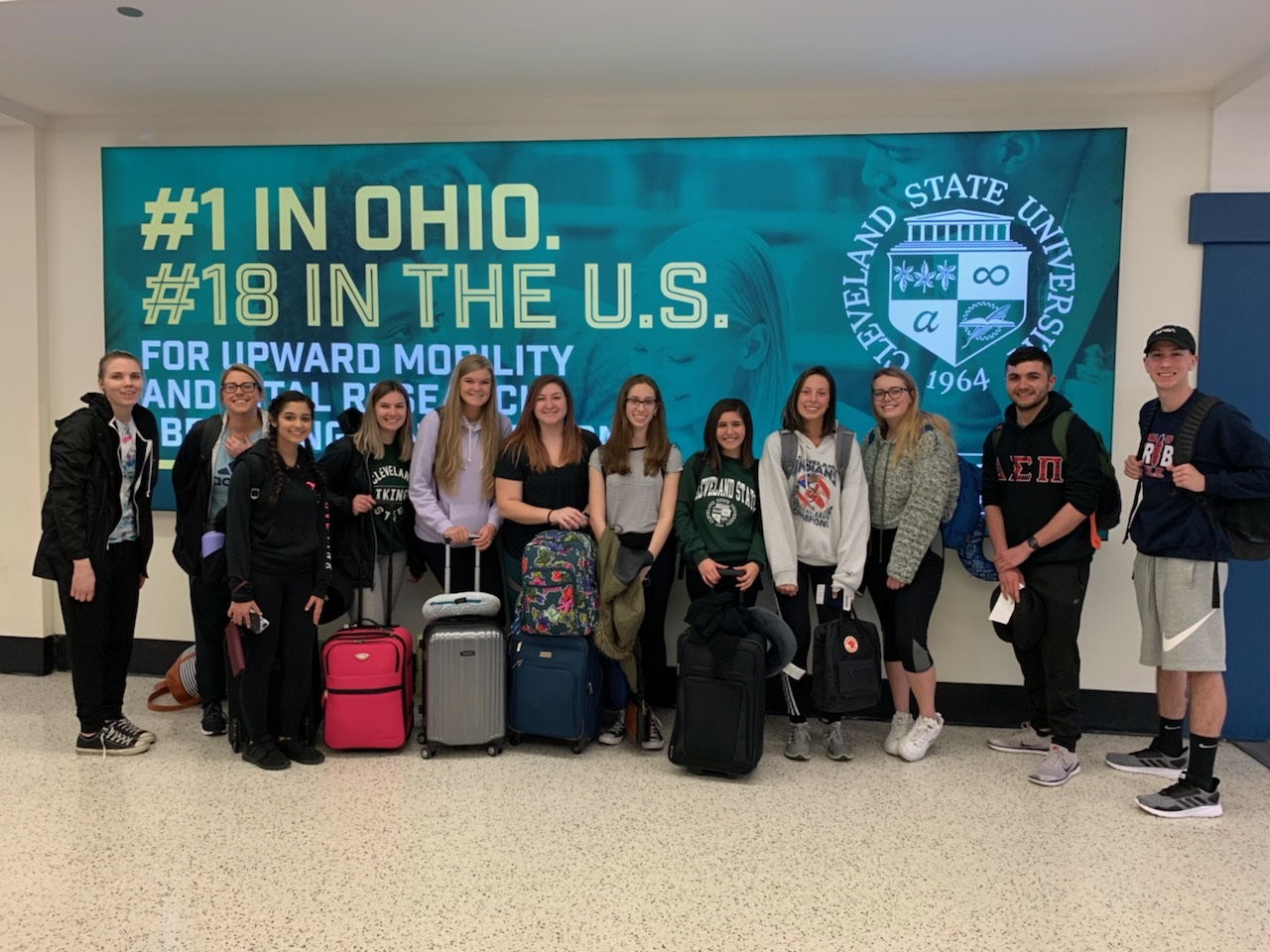 Study Abroad Students Traveling to London in Spring 2019