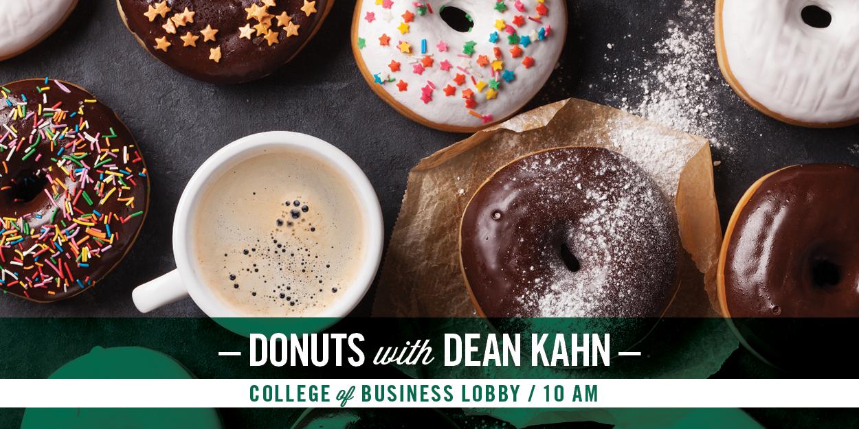 Donuts with Dean Kahn - Fall 2021