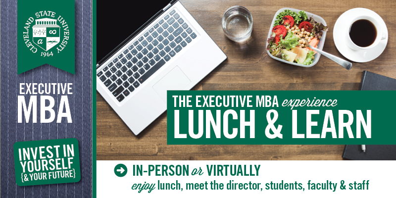 Executive MBA Lunch and Learns - Fall 2021