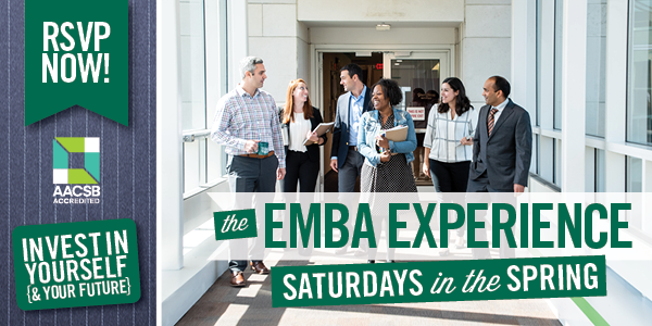 EMBA Experience - Saturdays in Spring 2020