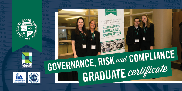 Graduate Certificate in Governance, Risk Management and Compliance