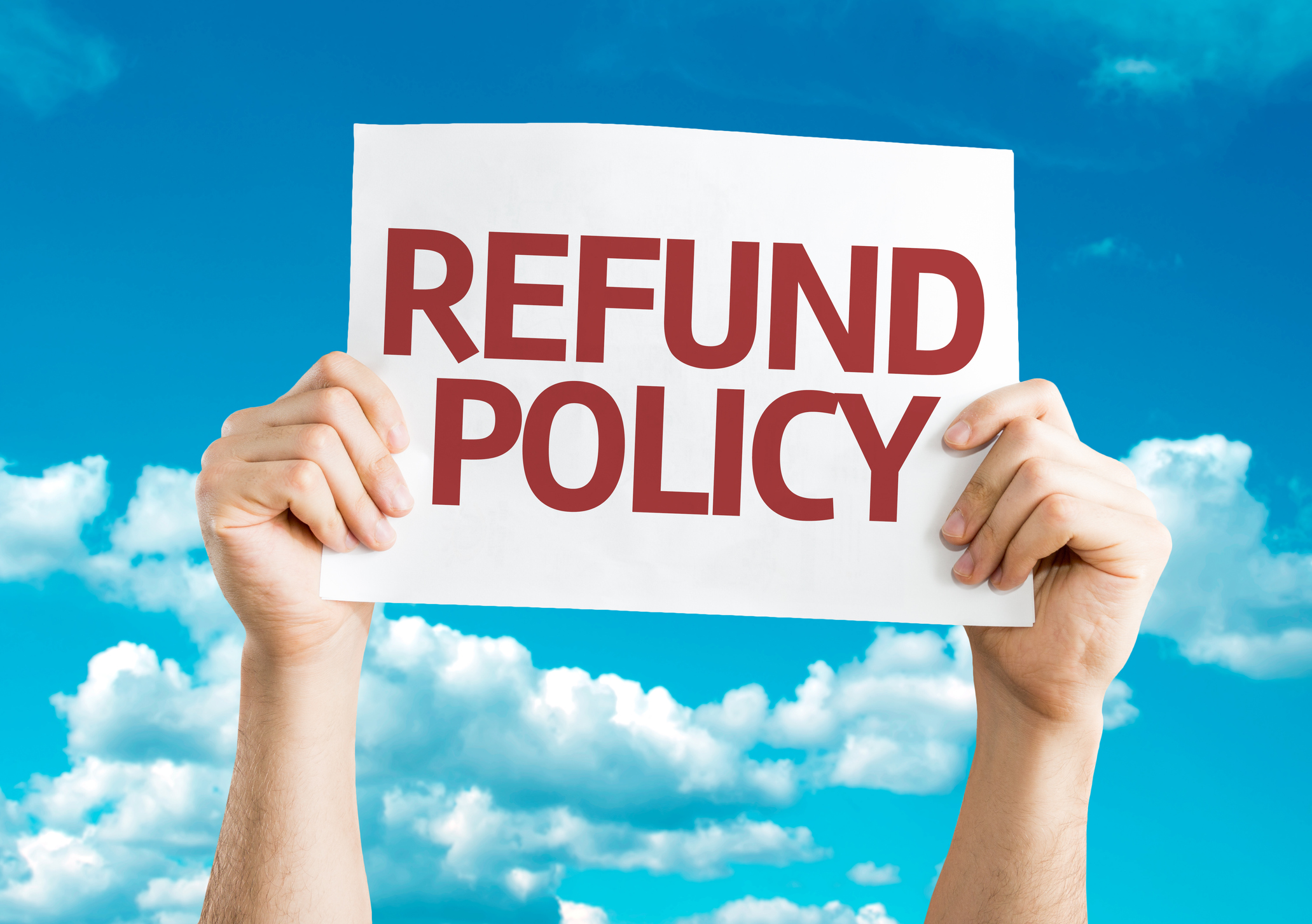 GettyImages 819775844 - Refund / Cancellation Policy