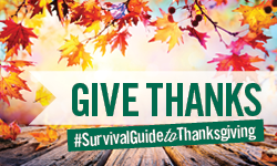 #SurvivalGuideToThanksgiving