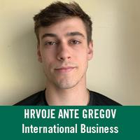 Hrvoje Gregov - Rotary Scholar