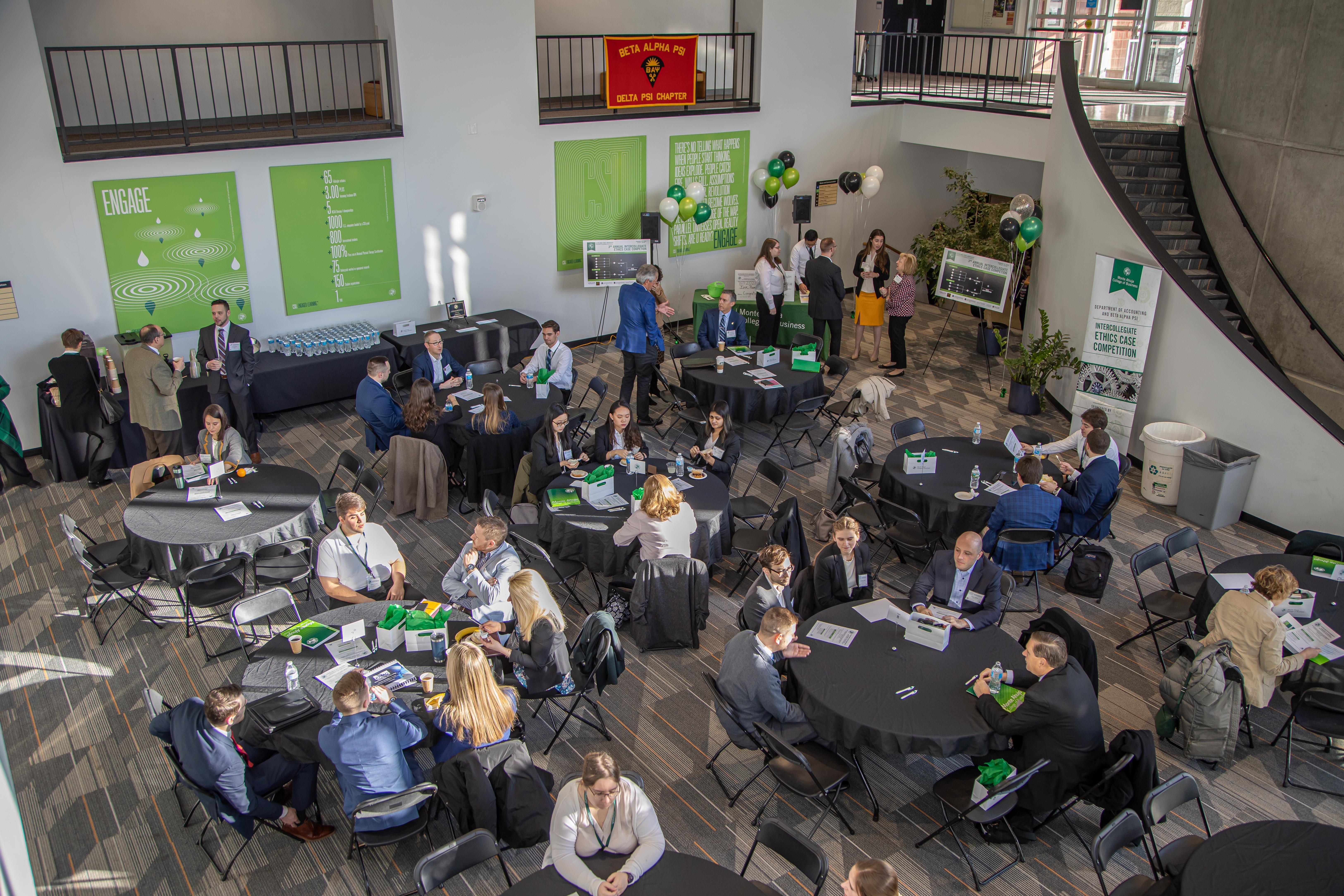 Intercollegiate Ethics Case Competition 2020 - event photo