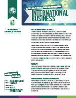 International Business Major Four Year Plan 2019