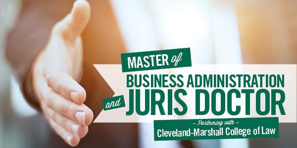 MBA and JD Program - Cleveland State University