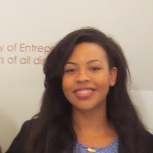 Maia Adams at Entrepreneurship Immersion Week 2015