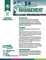 Management Major Four Year Plan 2019