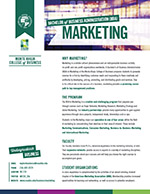 Marketing Major Four Year Plan 2019