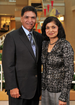 Monte and Usha Ahuja