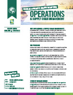 Operations and Supply Chain Management Major Four Year Plan 2019