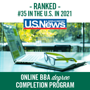 Online BBA #35 by U.S. News - 2020