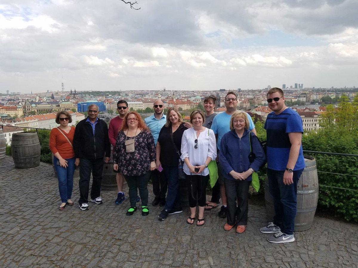 EMBA Class of 2019 at Prague Castle
