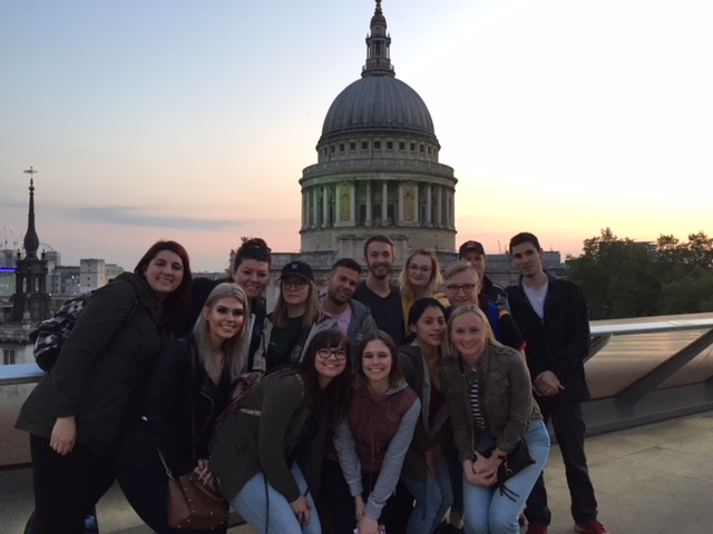 2018 Study Abroad - London - St. Paul's Cathedral