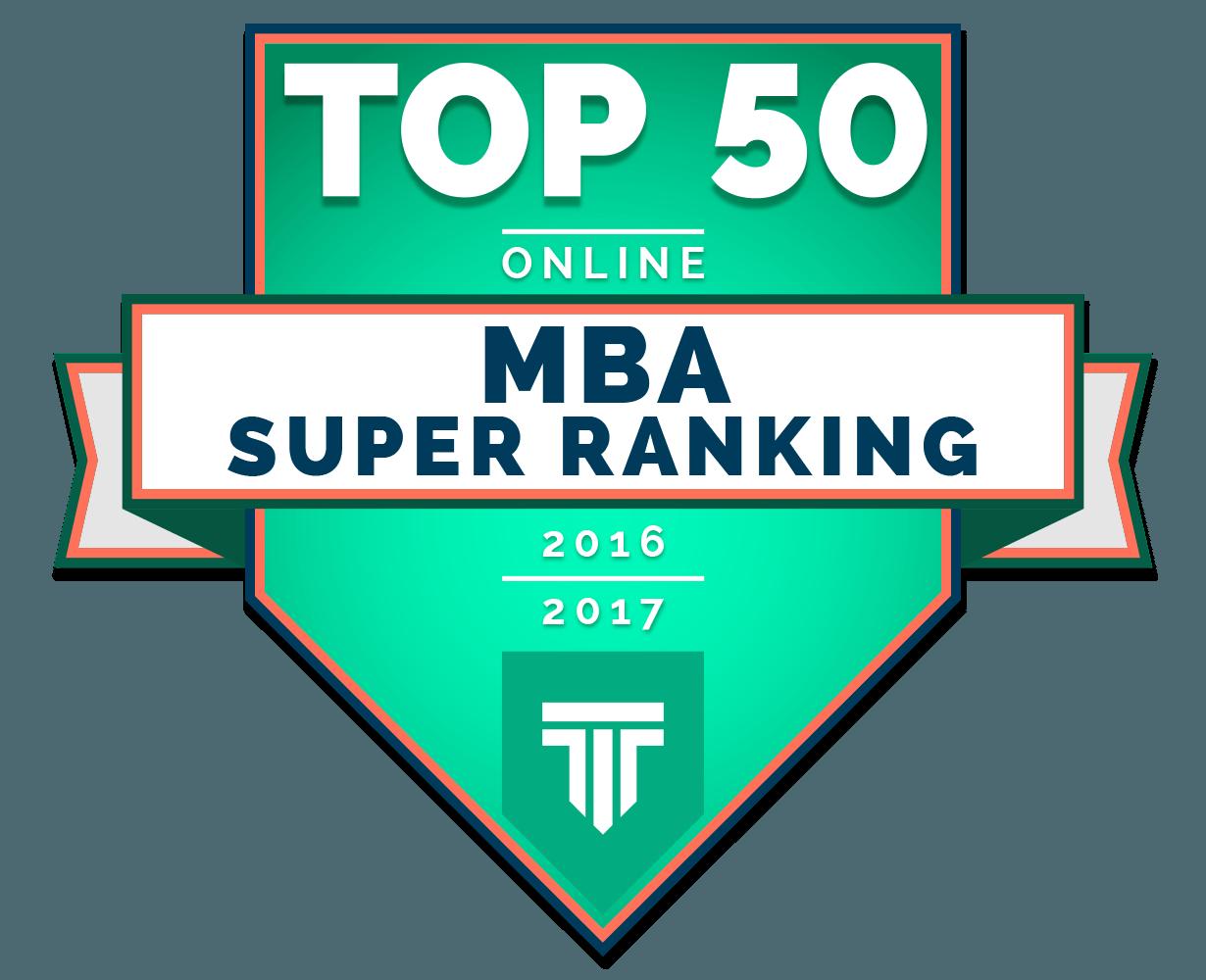 Top 50 Online MBA Super Ranking 2016-2017